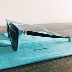 Tiffany & Co Cat-Eye Crystal Sunglasses
